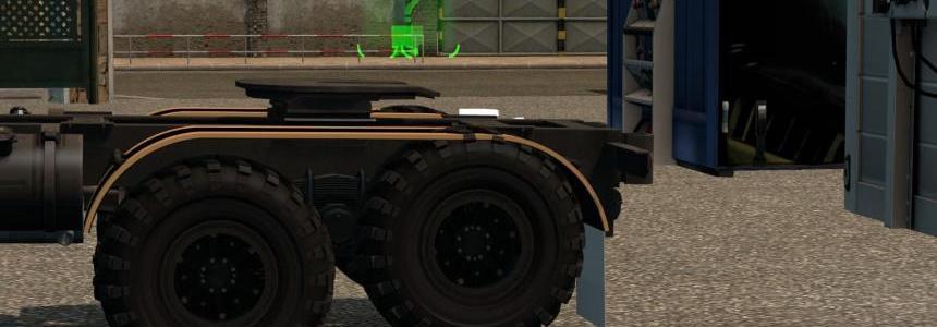 Rear Lift Axle For KRAZ 255 v1.0