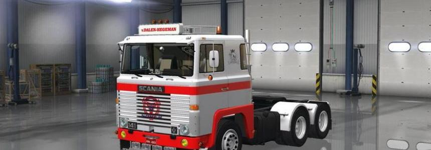 Scania 1 Series v2.0 for 1.6.x