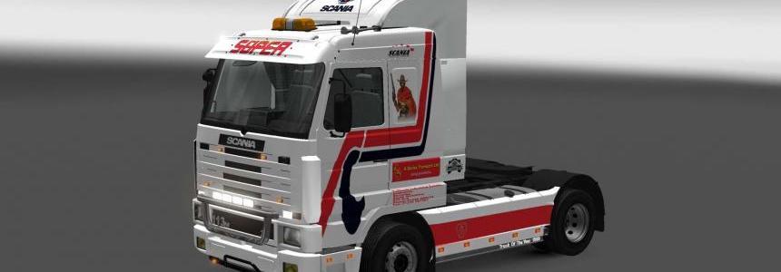 Scania 143M A. Davies skin 1.27