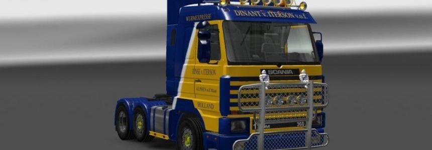 Scania 143M Dinant van Iterson Skin