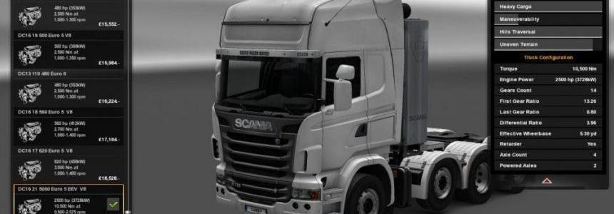 Scania R 5000 HP v1.0