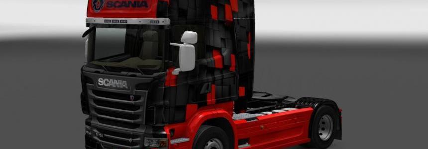 Scania R Quad Skin