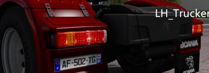 Scania R Rear Lights V1.0