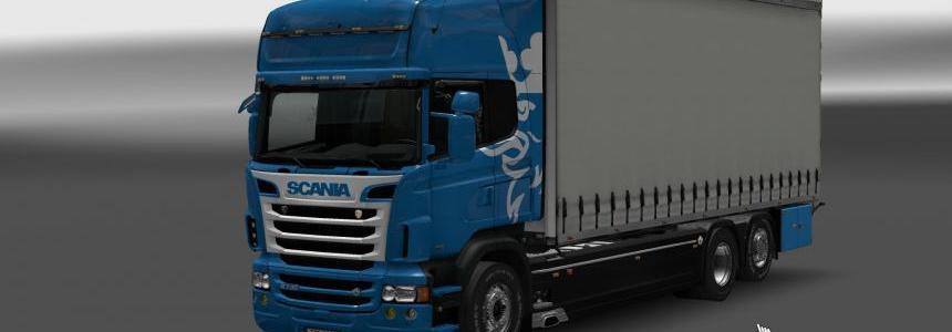 Scania RJL paintable skin 1.27