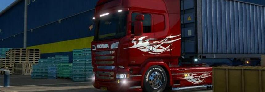 Scania RJL Paintable Tribal Skin 1.25