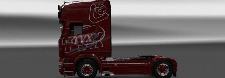 Scania RJL TVX Skin