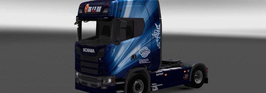 Scania S730 Avantech skin 1.27