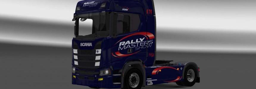 Scania S730 Rally skin 1.27