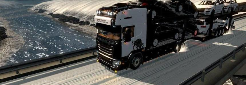 Scania V8 with Trailer