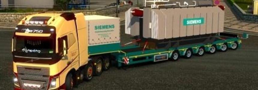 Schwerlast Siemens Trafo by MichaBF3