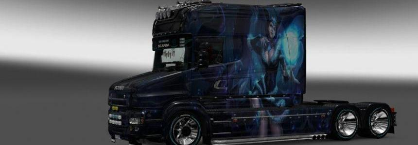 Skin Ahri v3 for Scania T Longline