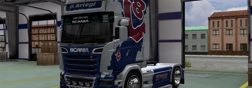 Skin D. Kriegl for Scania R 2009