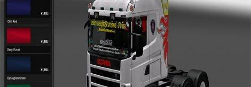 Skin Scania Thailand for Scania 4
