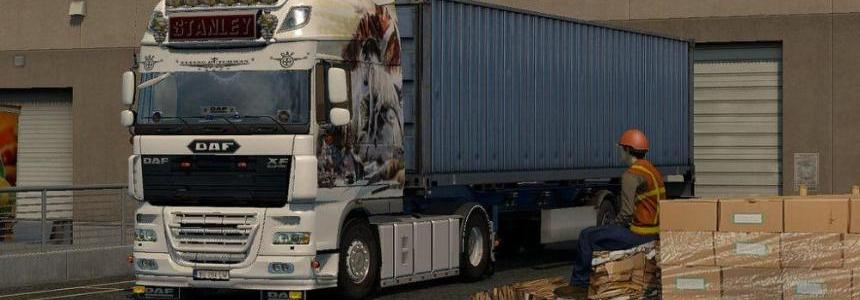 Super Space Skin for DAF XF 105 by Stanley