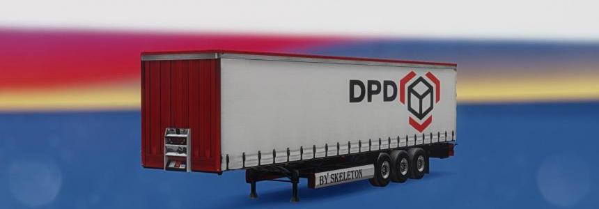 Trailer Krone Profi Liner DPD