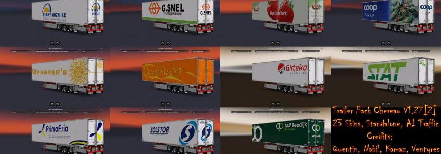 Trailer Pack Chereau 1.27.Xs