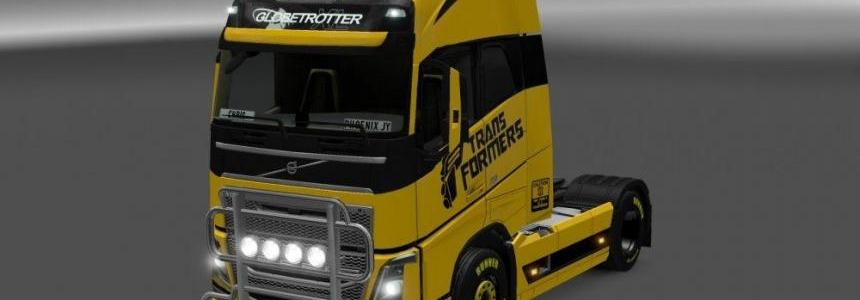 Tranformers Skin for Volvo FH 2012 v1.0