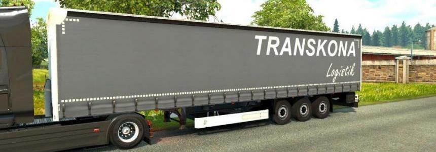Transkona trailer Wielton