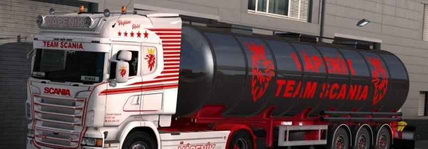 Vapenik Skin for Scania RJL