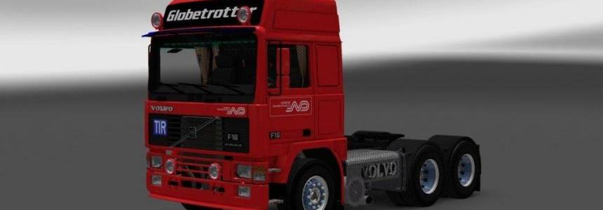 Volvo F16 Norbert Dentressangle Skin