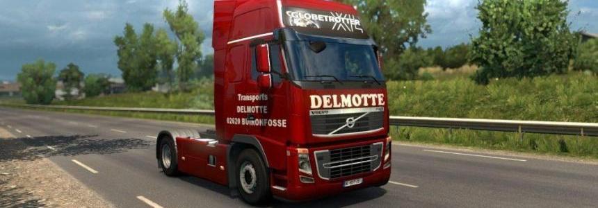 Volvo FH 2009 Delmotte Skin