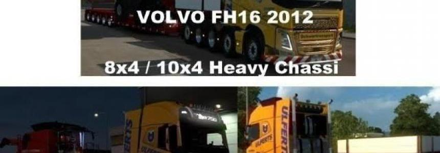 Volvo FH 2012 8x4 and 10x4 v9.3