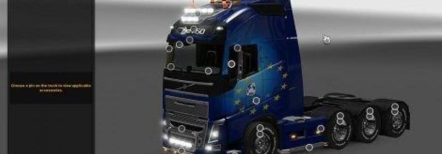 Volvo FH16 2012 6x4L 8x4L v1.0