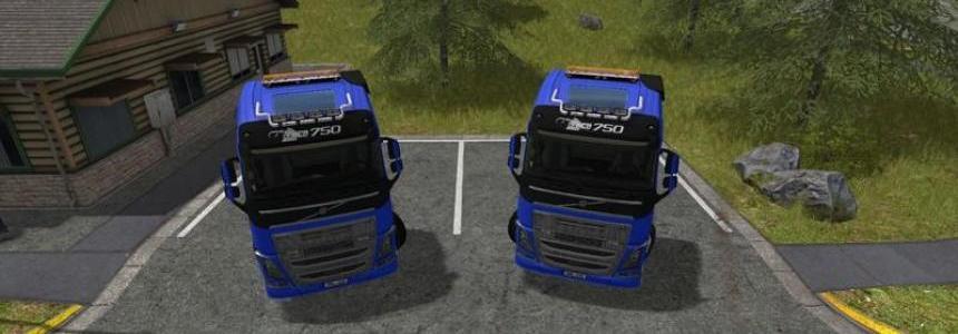 Volvo FH16 750 AR/Frame Pack v1.0