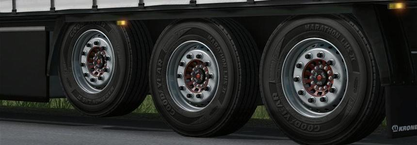 Wheels for trailer (1.27)