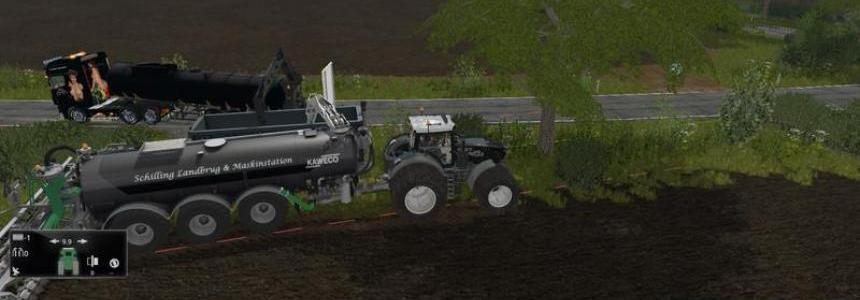 WM Tarm liquid manure trailer v1