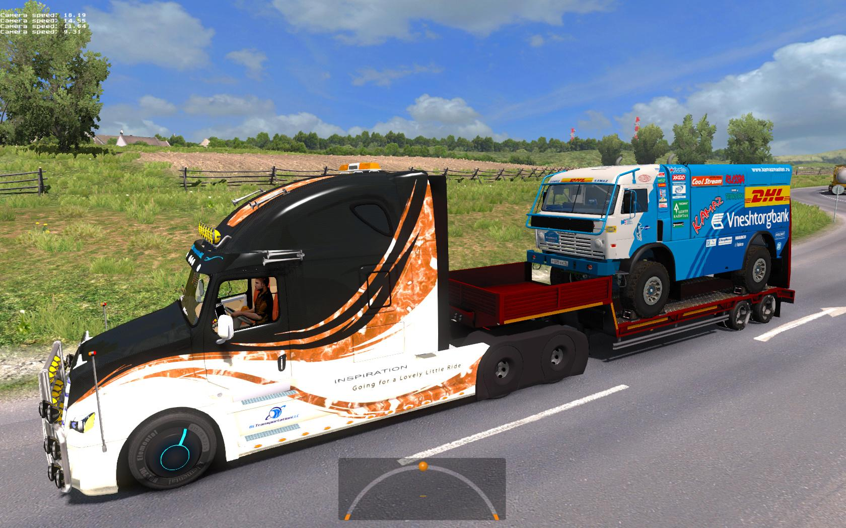Freightliner Inspiration Upgraded + SiSL's Mega Pack v2.5.1