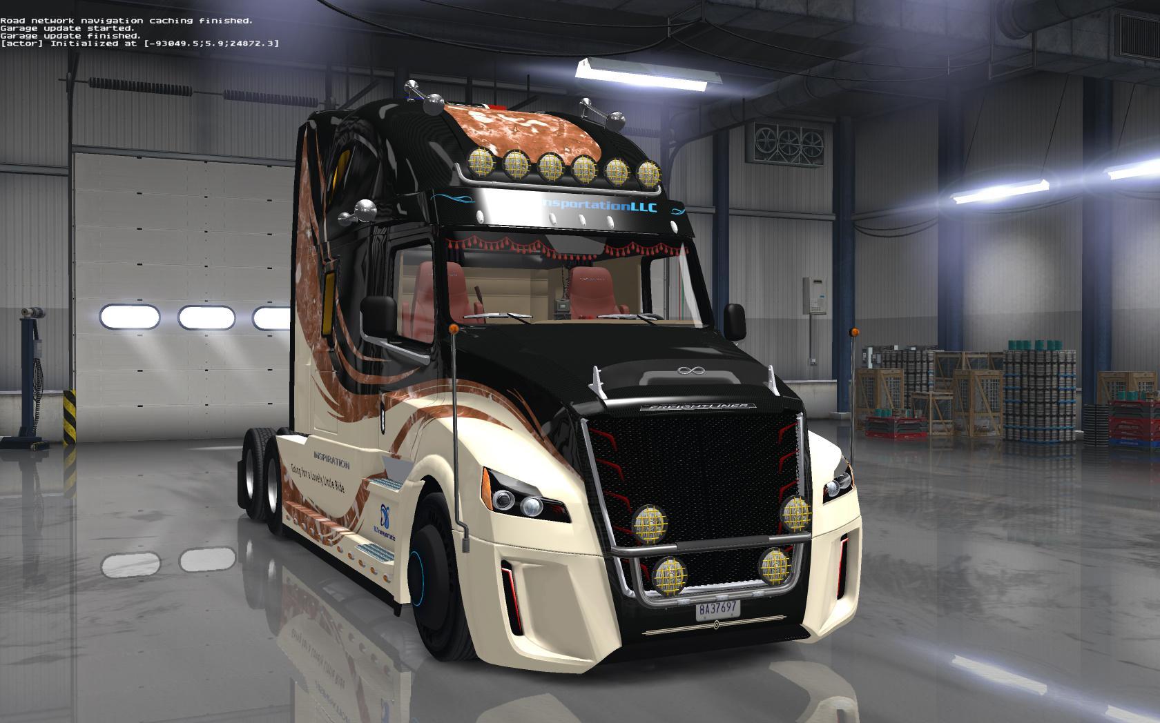 Freightliner Inspiration v 1.0 + SiSL's Mega Pack v2.5.1
