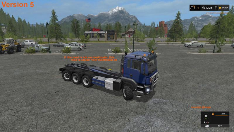 MAN TGS 6x6 and 8x8 with HVAC v5