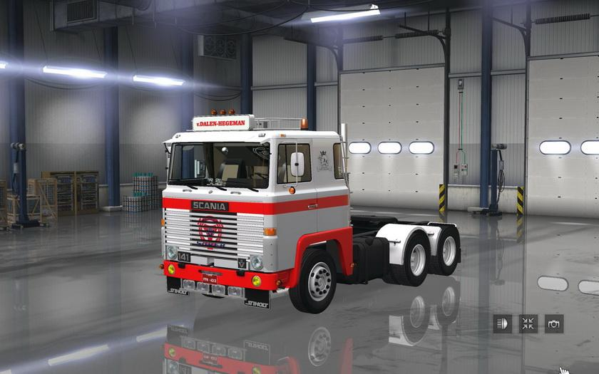 Scania 1 Series v 2.0 for 1.6.x