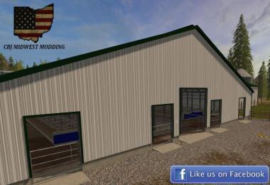 120x110 Free Stall Barn v1.0
