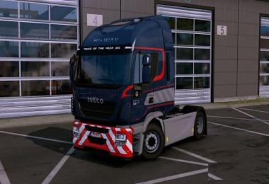 Color of the Special Transport from the Scania 8x4 to all trucks
