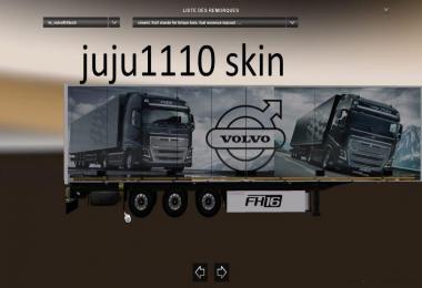 Volvo fh16 scmitz trailer skin