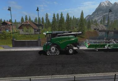 FS 17 GoldcrestValley Paved Roads v1.0