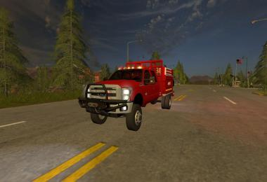 Ford F350 Brush Truck v1