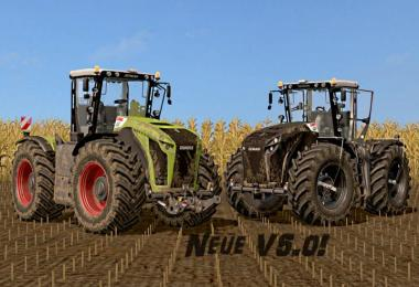 Claas Xerion 4000-5000 (3rd generation) v5.0