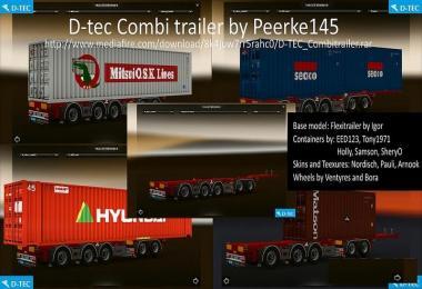 D-tec Combi Trailer by Peerke145 v1.1