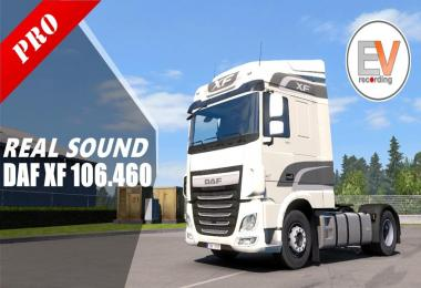 DAF XF 106 460 MX 13 340 Real Sounds