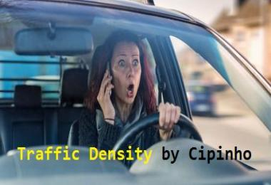 Density and intensity of traffic from Cipinho v2.2
