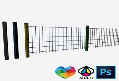 Double fence Multicolor PS / Edition