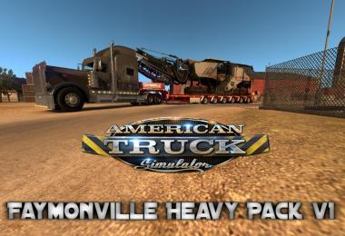 Faymonville Heavy Pack v1 for Ats 1.6