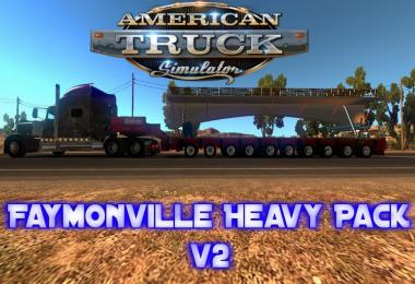 Faymonville Heavy Pack v2 for ATS 1.6