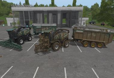 FS17 New Holland Forage Pack v1.5