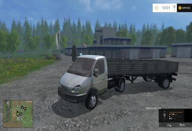 Gazelle with trailers v1.0