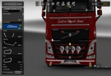 Grill for new Volvo FH16