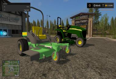 John Deere 3520 and Zero Turn v1.0